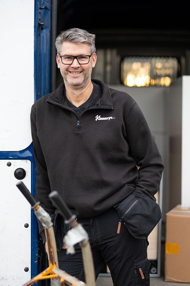 Inredningshuset Sundsvall medarbetare magnus andersson